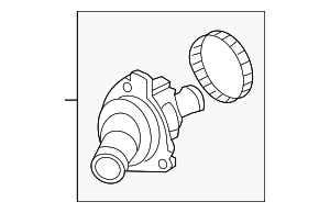 Thermostat Assembly (Nippon Thermostat) - Honda (19301-RAF-004)