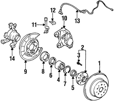 Rear Brakes For 1998 Toyota Supra