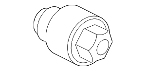Nut - Wheel - Ford (ACPZ-1A043-D)