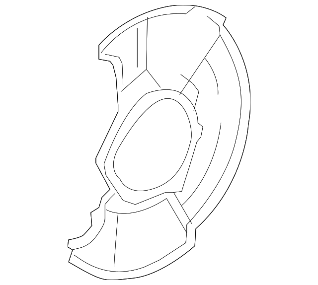 "Splash Guard, Front (16"")"