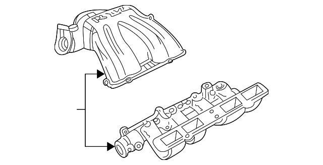 2002 Jeep Liberty Intake Parts Diagrams