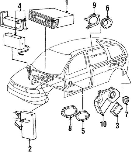 sound system for 1999 ford windstar