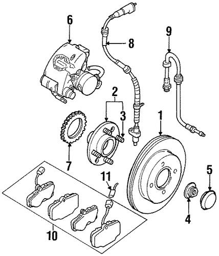 Mercury Cougar Brake Diagram