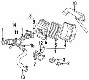 transmission filters nissan parts plus 2015 Nissan Versa air filter
