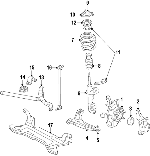 2010 Jeep Liberty Suspension: Front Suspension For 2010 Jeep Compass