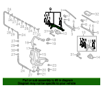 Linkage Assembly - Volkswagen (3D1-955-602-A)