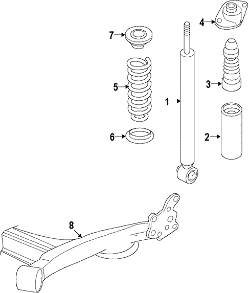rear suspension for 2015 chevrolet spark