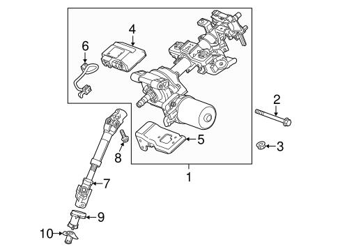 Steering Column Assembly for 2013 Chevrolet Spark | GMPartOnline
