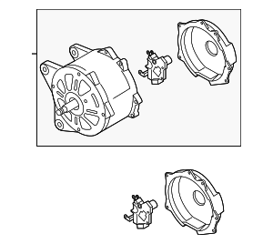 Alternator - Volkswagen (059-903-025-CX)