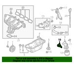 Oil Filter Housing Gasket - Mazda (PY01-14-342)