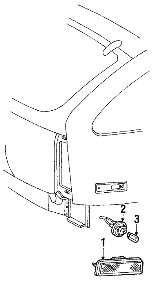 1996 Mercury Sable Wiring