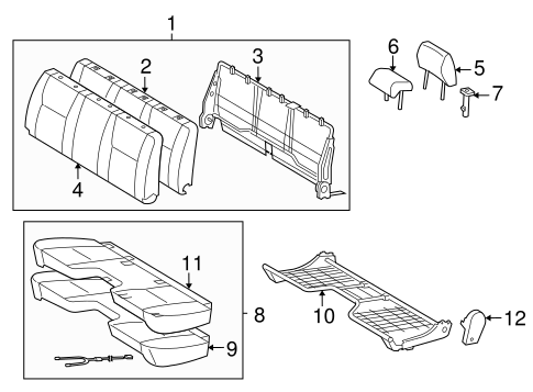 TOYOTA Genuine 71876-AD020-B2 Reclining Adjuster