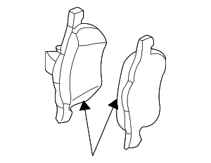 Front Pads - Volvo (31262503)