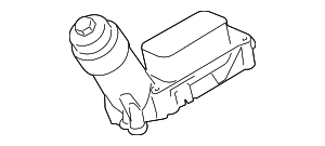 Oil Filter Housing - Mopar (4893647AE)