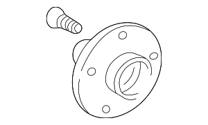 Hub Assembly - Toyota (43502-32070)