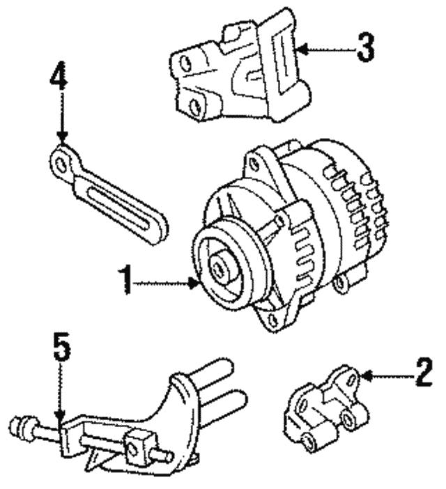 Alternator Rmd Core Id 8 97104 101 3 2 90276 620 0