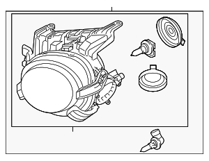 Headlamp Assembly - Nissan (26060-3YM2A)