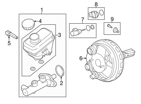 Hydraulic System For 2009 Ford Escape