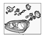 Headlamp Assembly - Volkswagen (1K6-941-005-S)