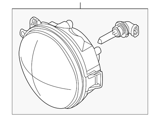 2000 2003 Bmw Z8 Headlamp Assembly 63 12 8 377 303