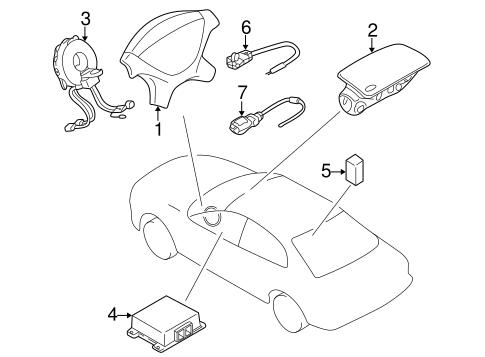 Air Bag Ponents For 2003 Mitsubishi Eclipse Spyder Gt Auto Parts. Electricalair Bag Ponents For 2003 Mitsubishi Eclipse Oem Parts 1. Mitsubishi. 2003 Mitsubishi Eclipse Spyder Parts Diagram At Scoala.co