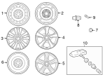 Wheel, Alloy - Toyota (42611-02A10)