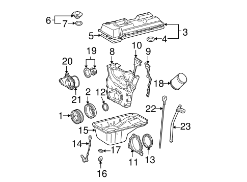engine parts for 1996 toyota tacoma #0