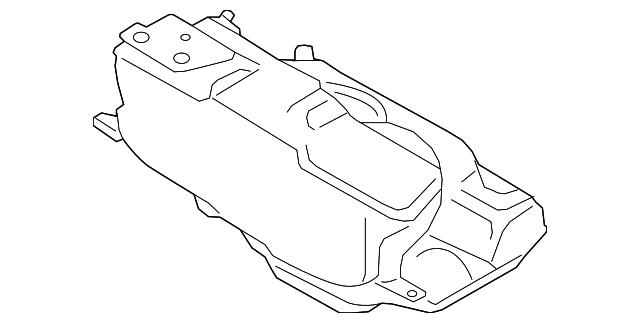 2012 2018 Porsche Fuel Tank 9p1 201 075