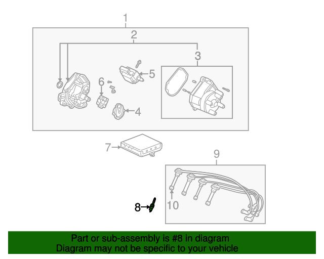 Spark Plug (ZFR5F-11) (Ngk)