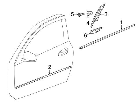 Exterior trim door for 2012 mercedes benz c 63 amg mb for Mercedes benz exterior parts