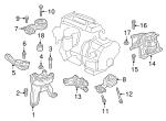 Genuine Honda Side Mount 50820-TLA-A01