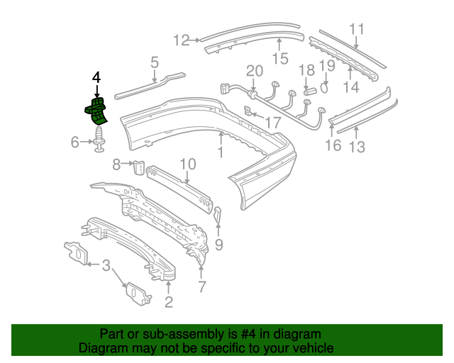 Guide bracket mercedes benz 220 885 02 63 mb parts exp for Mercedes benz oem replacement parts