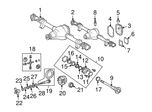 Axle Differential For 2003 Dodge Sprinter 2500