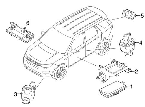 Electrical Components For 2016 Land Rover Discovery Sport