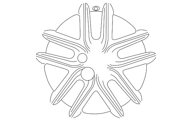 2014 2018 Lexus Wheel Alloy 4261a 53311