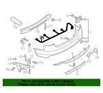 Trailer Tow Harness - Audi (8K0-971-104-H)