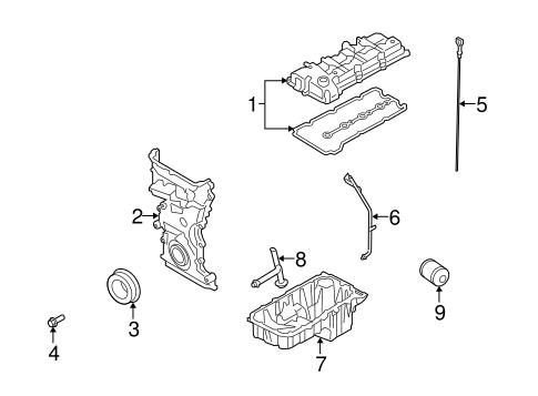 Engine Parts for 2009 Suzuki Grand Vitara | World OEM Parts Subaru
