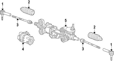 oem 2015 chevrolet silverado 1500 steering gear linkage parts rh gmpartsonline net 1992 chevy 1500 steering column diagram 1992 chevy 1500 steering column diagram
