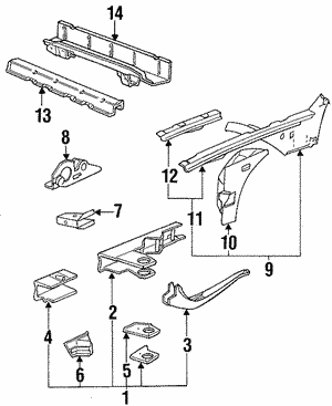 Hinge & Tube Support