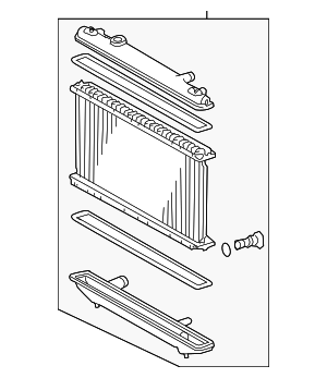 Radiator Assembly - Toyota (16400-20340)