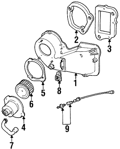 2000 Mercury Mountaineer Engine Diagram