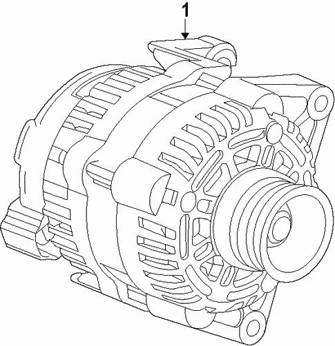 Alternator For 2018 Chevrolet Malibu