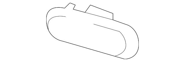 Genuine Mazda NF79-51-5C0B Reflector//Reflex Left