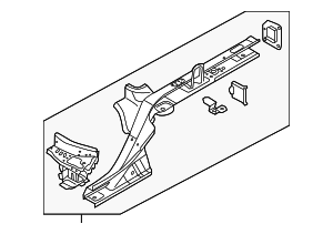 Side Rail Assembly - Audi (4G0-803-401-TA)