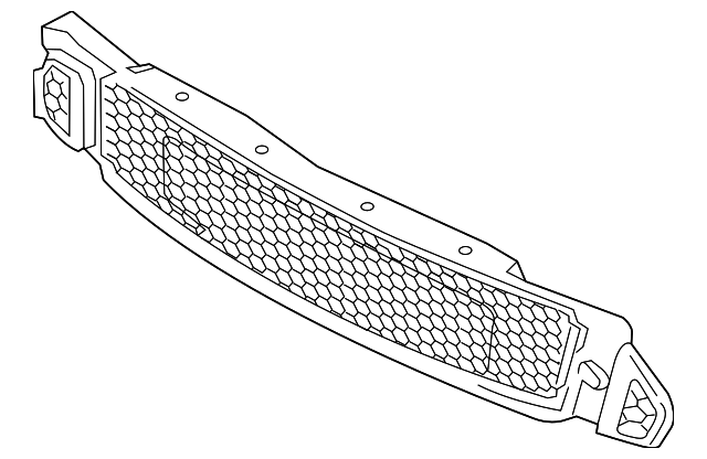 FORD MUSTANG EMBLEM FR3Z-8A224-A