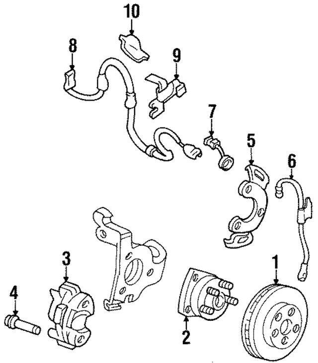 1993 Buick Regal Rear Suspension Parts Diagram 91 Buick Lesabre Fuse