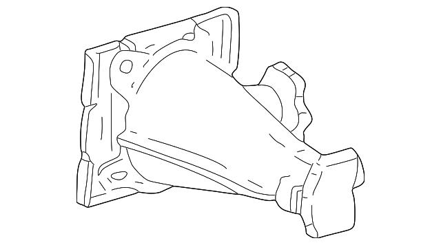 1999 2016 Ford Jack Assembly Ac3z 17080 B