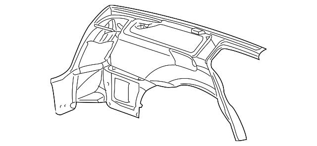 2005 2007 Dodge Magnum Inner Panel 5139154av
