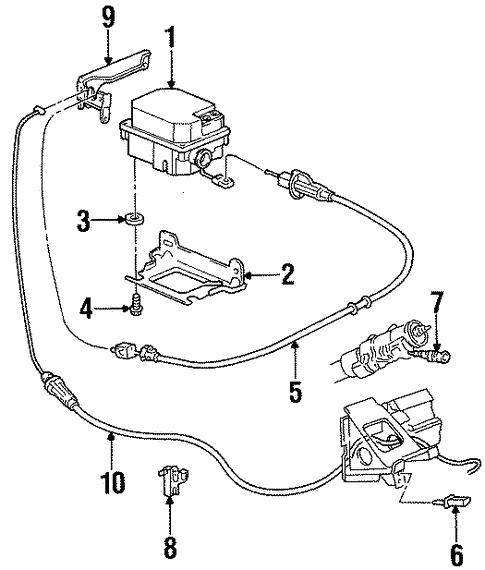 Fuel System Components for 1998 Oldsmobile 88 #1