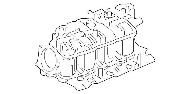 2007 Gmc Sierra Intake Manifold